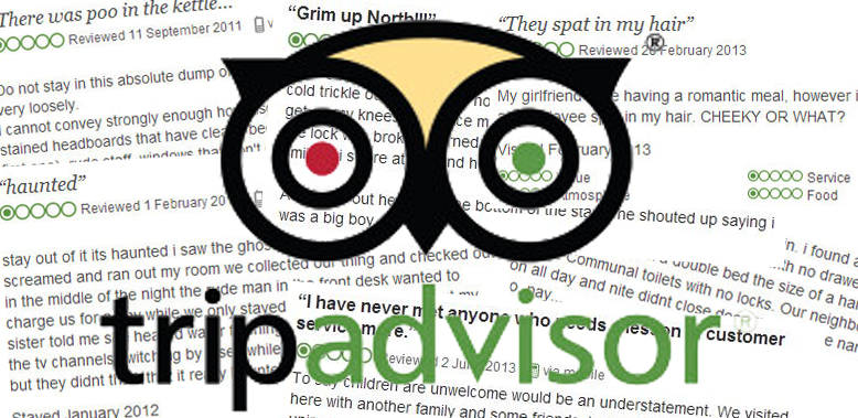 TripAdvisor Reviews – The good, the bad and the hilarious