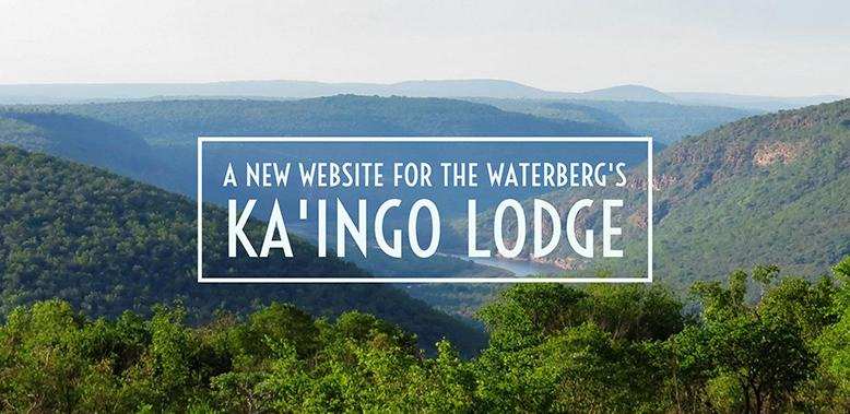A New Website for the Waterberg's Ka'Ingo Lodge