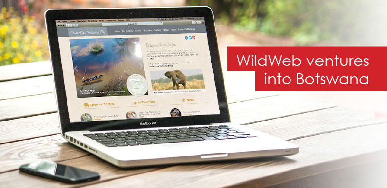 WildWeb Ventures into Botswana with a Website Redesign