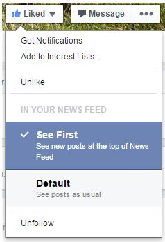 how to create a follow button on facebook page