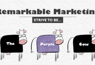 Being a Purple Cow in Content Marketing