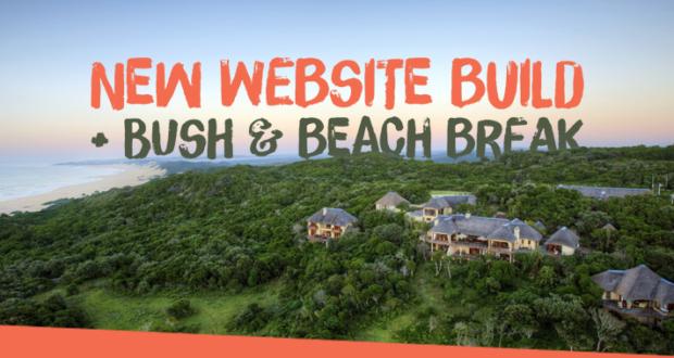 New Website Build + Bush and Beach Break