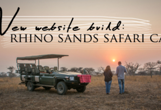 New Website for New Rhino Sands Safari Camp