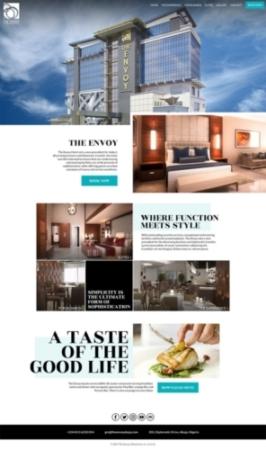 Front-end Development, Website Design, Website Development, WildWeb, The Envoy